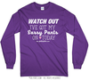 Golly Girls: Sassy Pants Long Sleeve Purple T-Shirt (Youth & Adult Sizes)