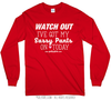 Golly Girls: Sassy Pants Long Sleeve Red T-Shirt (Youth & Adult Sizes)