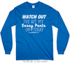Golly Girls: Sassy Pants Long Sleeve Royal T-Shirt (Youth & Adult Sizes)