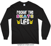 Golly Girls: Rockin' the Skate Life Long Sleeve T-Shirt (Youth-Adult)