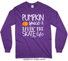 Golly Girls: Pumpkin Spice Skate Long Sleeve T-Shirt (Youth-Adult)