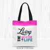 Living The Skater Life Tote Bag - Golly Girls