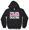 Golly Girls: This Girl Loves Skating Hoodie (Youth-Adult)