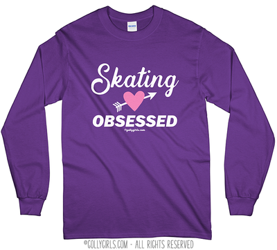 Golly Girls: Skating Obsessed Long Sleeve T-Shirt (Youth-Adult)