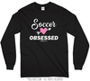 Golly Girls: Soccer Obsessed Long Sleeve T-Shirt (Youth-Adult)