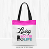 Living The Soccer Life Tote Bag - Golly Girls
