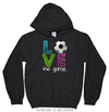 Golly Girls: Soccer LOVE The Game Hoodie (Youth-Adult)