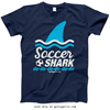 Golly Girls: Soccer Shark T-Shirt (Youth-Adult)