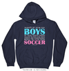 Golly Girls: No Room For Boys Soccer Navy Hoodie (Youth-Adult)