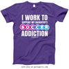 Golly Girls: Work to Support Daughter's Soccer T-Shirt