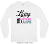 Living The Softball Life Long Sleeve T-Shirt (Youth-Adult) - Golly Girls