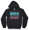 Golly Girls: No Room For Boys Softball Hoodie (Youth-Adult)