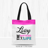Living The Softball Life Tote Bag - Golly Girls
