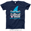 Golly Girls: Softball Shark T-Shirt (Youth-Adult)