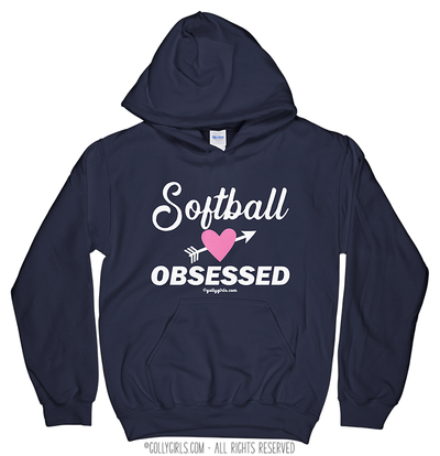 Golly Girls: Softball Obsessed Hoodie (Youth-Adult)