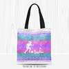 Personalized Starry Sky Soccer Tote Bag