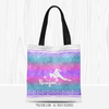 Personalized Starry Sky Volleyball Tote Bag - Golly Girls