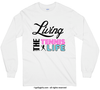 Living The Tennis Life Long Sleeve T-Shirt (Youth-Adult) - Golly Girls