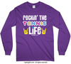 Golly Girls: Rockin' the Tennis Life Long Sleeve T-Shirt (Youth-Adult)