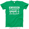 Golly Girls: Unlucky to Pinch a Cheerleader T-Shirt (Youth & Adult Sizes)