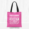 Volleyball is My Favorite Tote Bag - Golly Girls