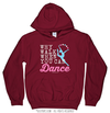 Golly Girls: Why Walk When You Can Dance Hoodie (Youth-Adult)