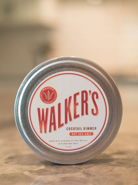 Walker's Cocktail Rimming Salts and Sugar 3.5 oz