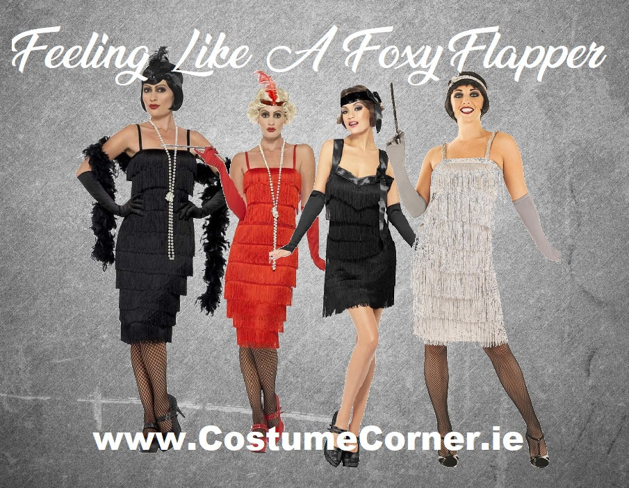 1920 style Flapper Fancy Dress