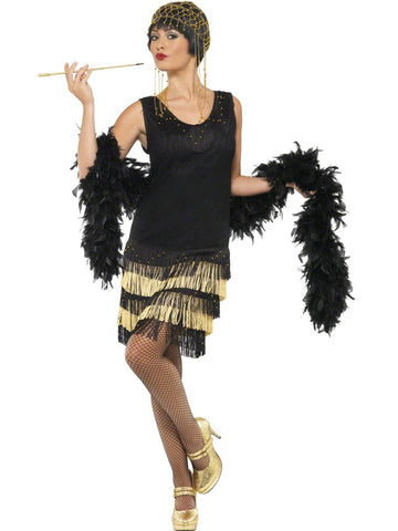1920 Fringed Flapper