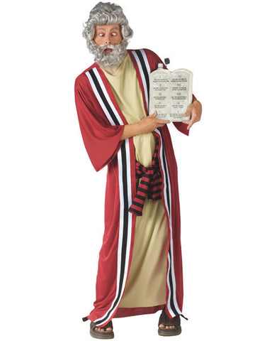 Moses & the Ten Commandments of Party