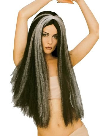 Vampiress Wig Long with Grey