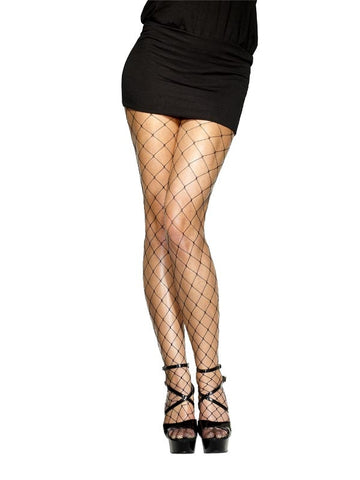 Diamond  Black Fishnets Tights