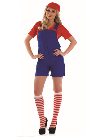 Sexy Plumber Girl-Red