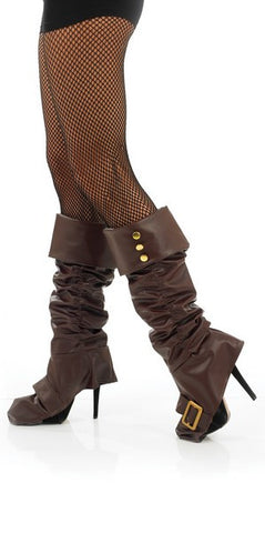 Pirate Bootcovers-Brown