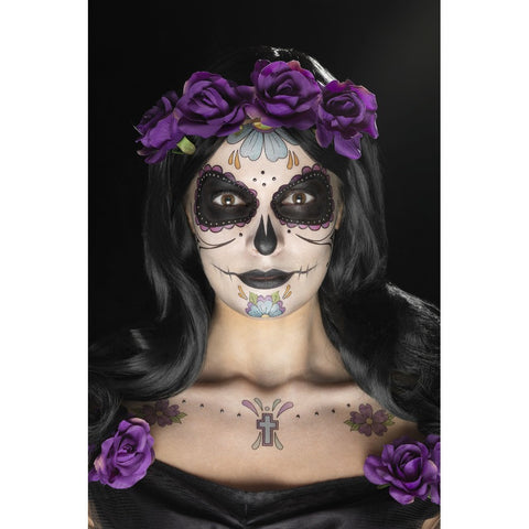 Day of the Dead Flower Makeup Kit