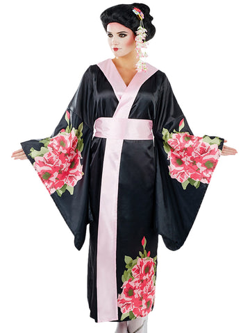 Geisha Lady Black