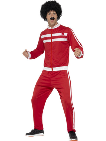 Scouser Tracksuit Red & White