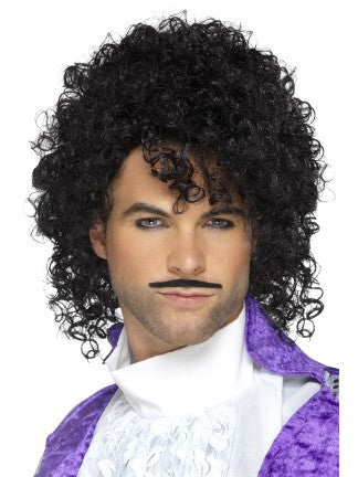 80's Purple Musician Wig Kit