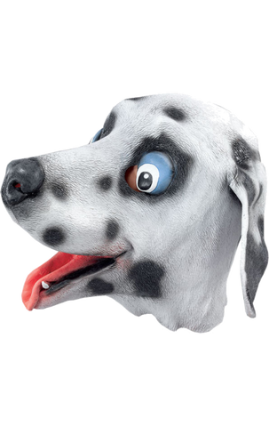 Deluxe Overhead Dalmation Mask