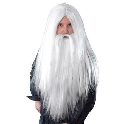 Wizard Wig & Long Beard