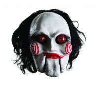 Saw-Jigsaw Puppet Mask