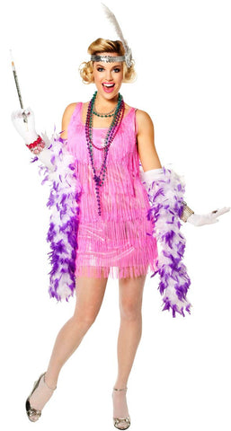 Snazzy Pink Flapper