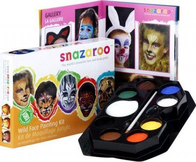 Wild Face Paint Kit