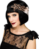 1920's Beaded Feather Headband