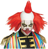 Red Twisted Clown Wig