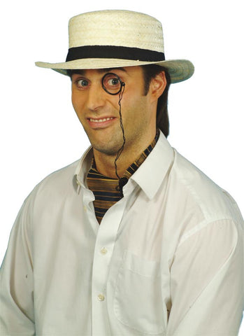 0dd8d80d7f9 Straw Boater Hat Costume €8.50 – CostumeCorner.ie