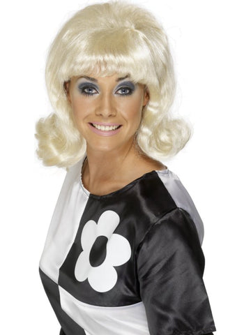 60's Style Blonde Wig