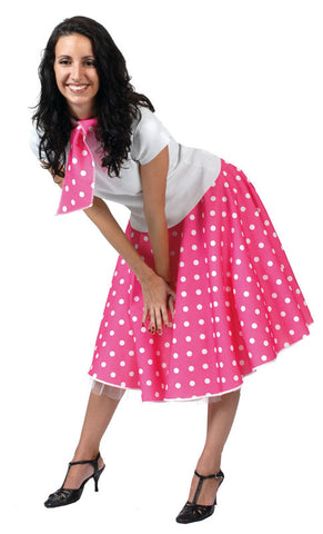 Rock n Roll skirt Pink(Including Layered Petticoat)