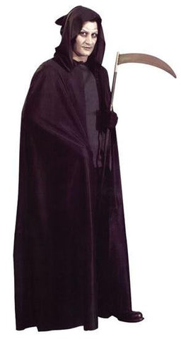 Hooded Black Cloak