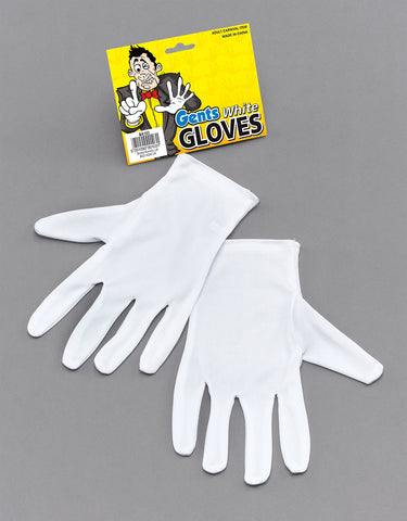 Gent's White Gloves